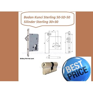 Handle Set Sterling 50-SD-50