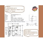 Engsel Pintu dan Jendela Simonswerk QR-70-Nikel 2