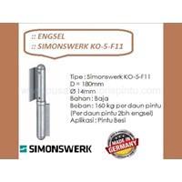 Engsel Simonswerk KO-5-F11