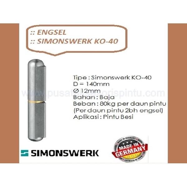 Engsel Pintu dan Jendela Simonswerk KO-40