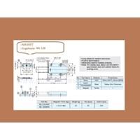 Jual Magnet Lemari Sugatsune ML-120-Brown 2