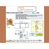 Jual Engsel Lemari Sugatsune AHW-20-PB 2