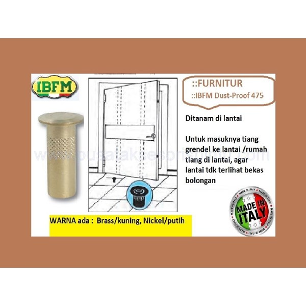 Dustproof IBFM 475 White