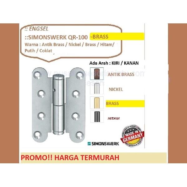 SALE Engsel Pintu dan Jendela Simonswerk QR-100-Brass
