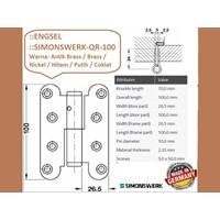 Sell Hinge Pintu dan Jendela Simonswerk QR-100-Hitam 2