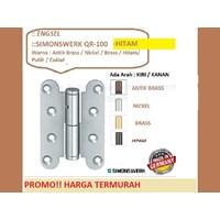 Hinge Pintu dan Jendela Simonswerk QR-100-Hitam 1