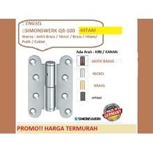 Hinge Pintu dan Jendela Simonswerk QR-100-Hitam
