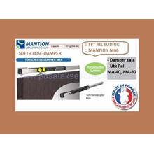Set Rail Sliding Mantion M66