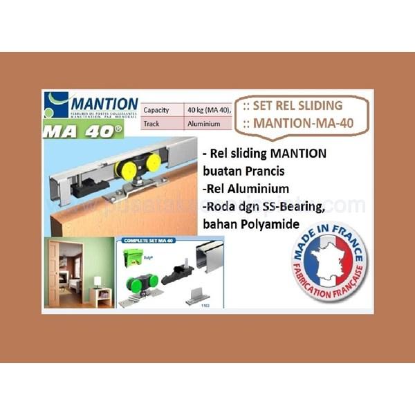 Set Pintu Sliding Mantion MA - 40 . 165