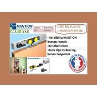 Set Pintu Sliding Mantion MA - 80 . 165