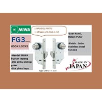 Miwa Lock U9-FG3-1-ST