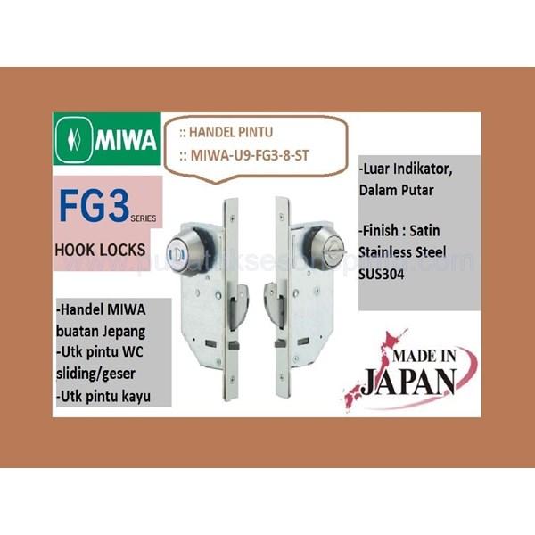 Kunci Miwa U9-FG3-8-ST