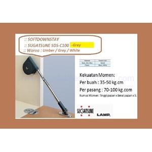 Hinge Perabot Kabinet Sugatsune SDS-C100-Grey