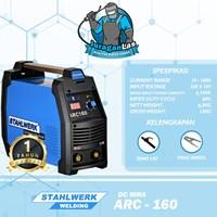 Mesin Las DC MMA Arc-160 Stahlwerk