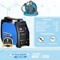 Mesin Las DC MMA Arc-200 Stahlwerk