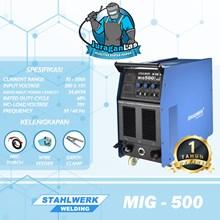 MIG-500F Stahlwerk MIG/MAG + MMA Welding Machine +