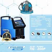 Mesin Las TIG-200P AC/DC + Plasma AC/DC Pulse Stahlwerk