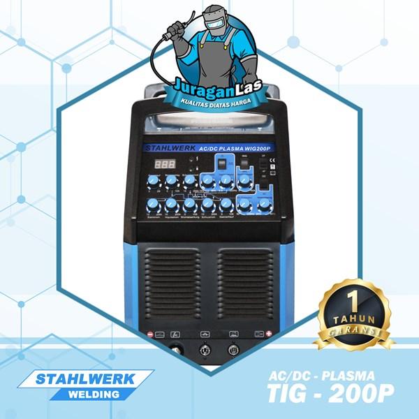 TIG-200P AC/DC + Plasma Stahlwerk AC/DC Pulse Multifunction Welding and Cutting Machine