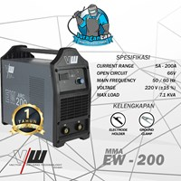 EW-200 Vector DC MMA Welding Machine