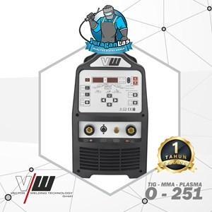 Dari O-251 Vector AC/DC TIG Pulse + MMA + Plasma Cutting Machine 2