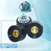 Panel Socket 10-25mm