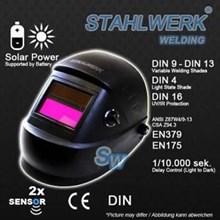 Kedok las otomatis / auto darkening helmet Stahlwerk AF-1