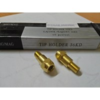 Tip Holder / Body for Mig Torch type MB-36 Drat M6x28L