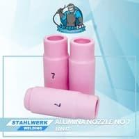 Alumina Nozzle / Keramik Argon no.7untuk WP-17 / 26/ 18