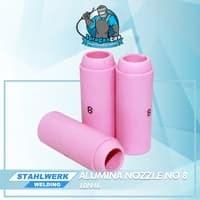 Alumina Nozzle / Keramik Argon no.8untuk WP-17 / 26/ 18