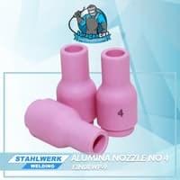 Alumina Nozzle / Keramik Argon no.4untuk WP-9