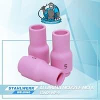 Alumina Nozzle / Keramik Argon no.5untuk WP-9