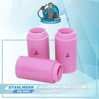 Alumina Nozzle / Keramik Argon no.7untuk WP-9