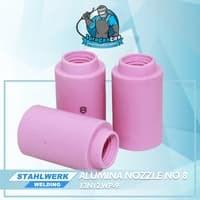 Alumina Nozzle / Keramik Argon no.8untuk WP-9
