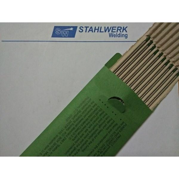 Tungsten Electrodes / Jarum Las Argon diameter 2.4mm x 175mmPure / Green