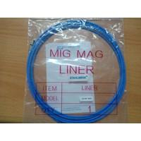Peralatan Las MIG Teflon Liner Pana type diameter 1.0mm panjang 3 meter 1