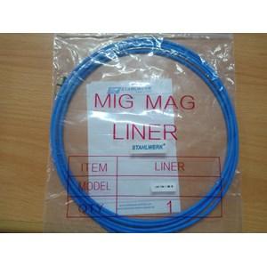 Peralatan Las MIG Teflon Liner Pana type diameter 1.0mm panjang 3 meter