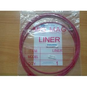Peralatan Las MIG Teflon Liner Pana type diameter 1.2mm panjang 3 meter