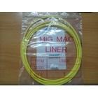 Peralatan Las MIG Teflon Liner Pana type diameter 1.6mm panjang 3 meter 1