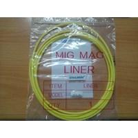 Peralatan Las MIG Teflon Liner Pana type diameter 1.6mm panjang 3 meter