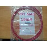 Peralatan Las MIG Teflon Liner Euro type diameter 1.2mm panjang 3 meter