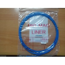 Peralatan Las MIG Teflon Liner Euro type diameter