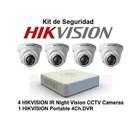 Paket Kamera CCTV Hikvision 4 chanel 2