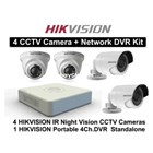 Paket Kamera CCTV Hikvision 4 chanel 1
