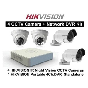 Dari Paket Kamera CCTV Hikvision 4 chanel 0