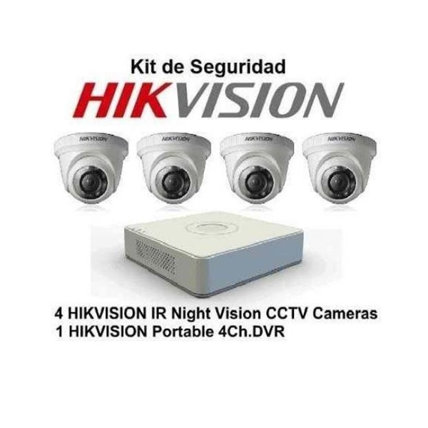 Paket Kamera CCTV Hikvision 4 chanel