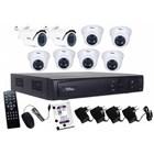 Paket Kamera CCTV Telview 8 Chanel 1