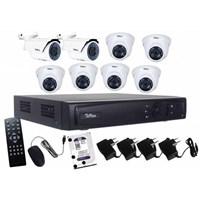 Paket Kamera CCTV Telview 8 Chanel