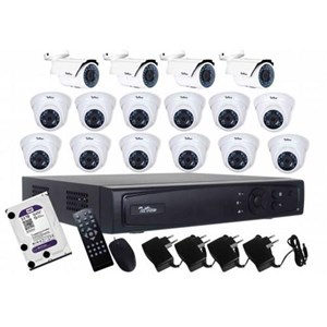 Paket Kamera CCTV Telview 16 Chanel