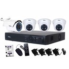 Paket Kamera CCTV Telview 4 Chanel 1