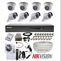Paket Kamera CCTV Hikvision 8 Chanel